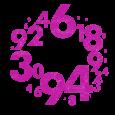 Numbers_002_fuchsia