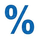 Percentage sign_blue_130