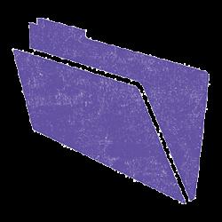 folder lavender