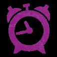 alarm clock_fuchsia