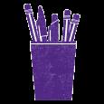 pen_and_pencil_purple