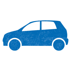 car icons_blue