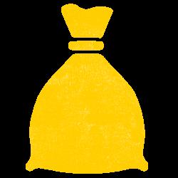 Sack_yellow